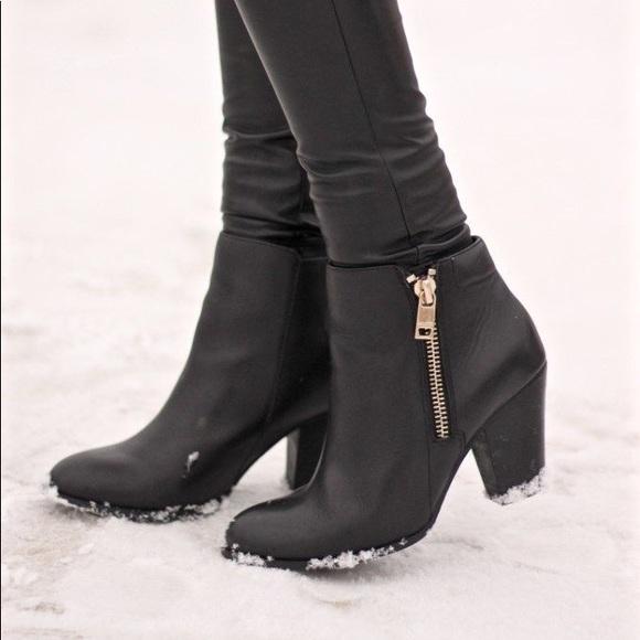 fff6f7877d Aldo Shoes - Aldo Black Ankle Boots